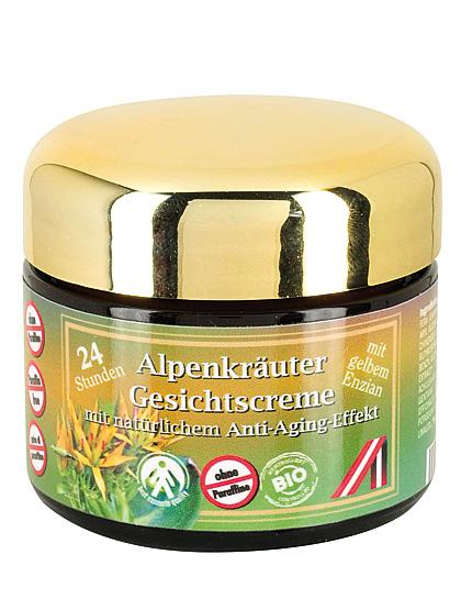Alpenkräuter-Gesichtscreme