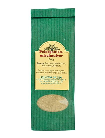 Pelargonien-Mischpulver