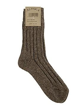Alpaka-Socken - dick